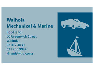 Waihola Mechanical and Marine