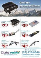 Promotional Product Specials September/October 2013
